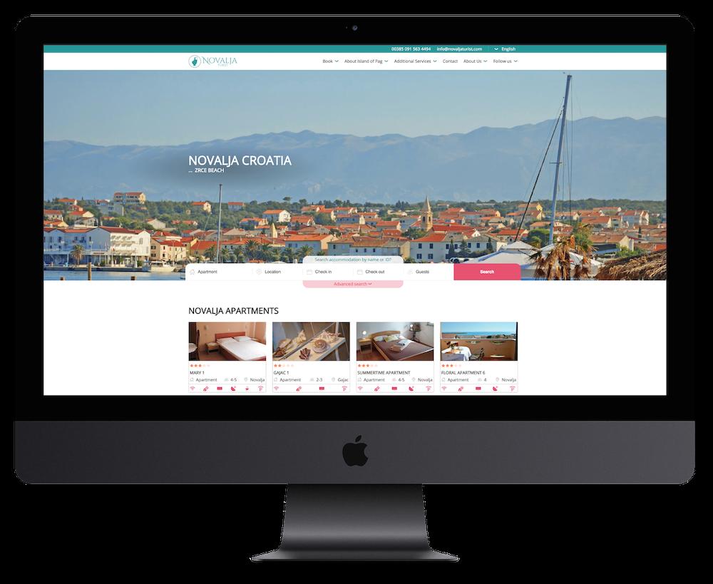 NovaljaTurist-homepage